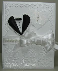 The Crooked Stamper: A Wedding Card