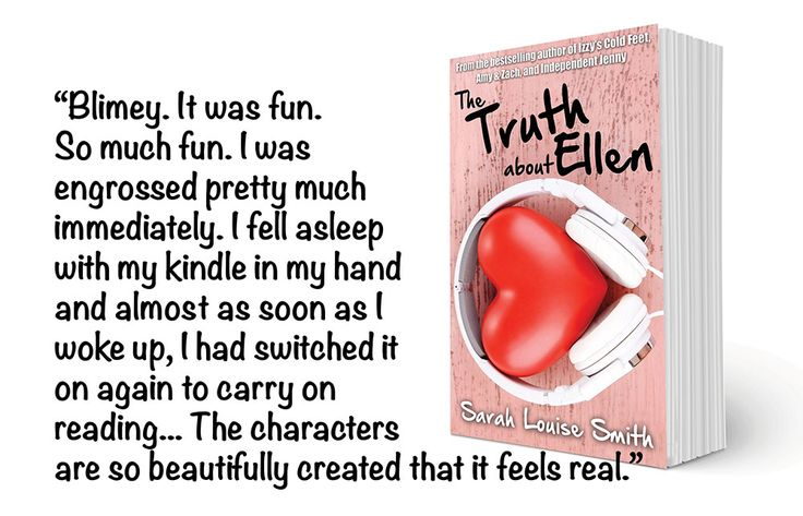Lovely review for Chick Lit Romantic Comedy Novel: The Truth About Ellen