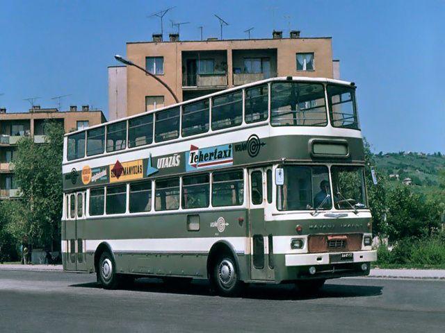 1976 MAVAUT-Ikarus 556 (GA81-17)