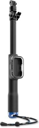Elevate your GoPro skills with this light, packable remote camera pole.