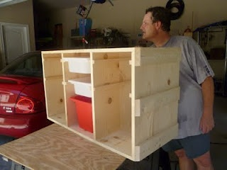 Tutorial DIY IKEA Trofast from Living, Loving, Learning Naturally