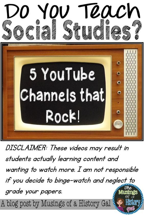 5 You Tube Channels that Rock for Social Studies