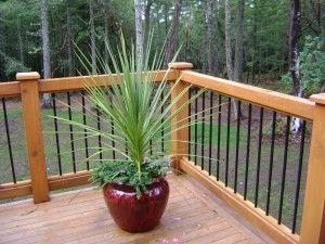 1292 Best Images About Deck Railing Ideas On Pinterest Railing Design Cedar Deck And Metal