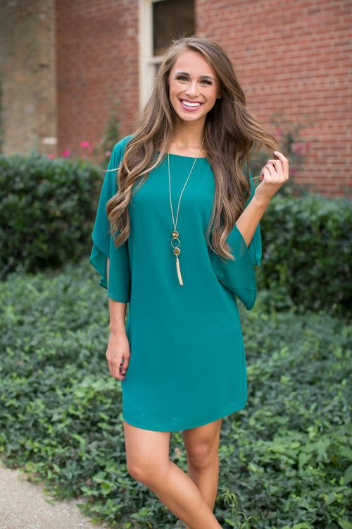 Get ready for a bold change to your fall wardrobe with this stunning dress!