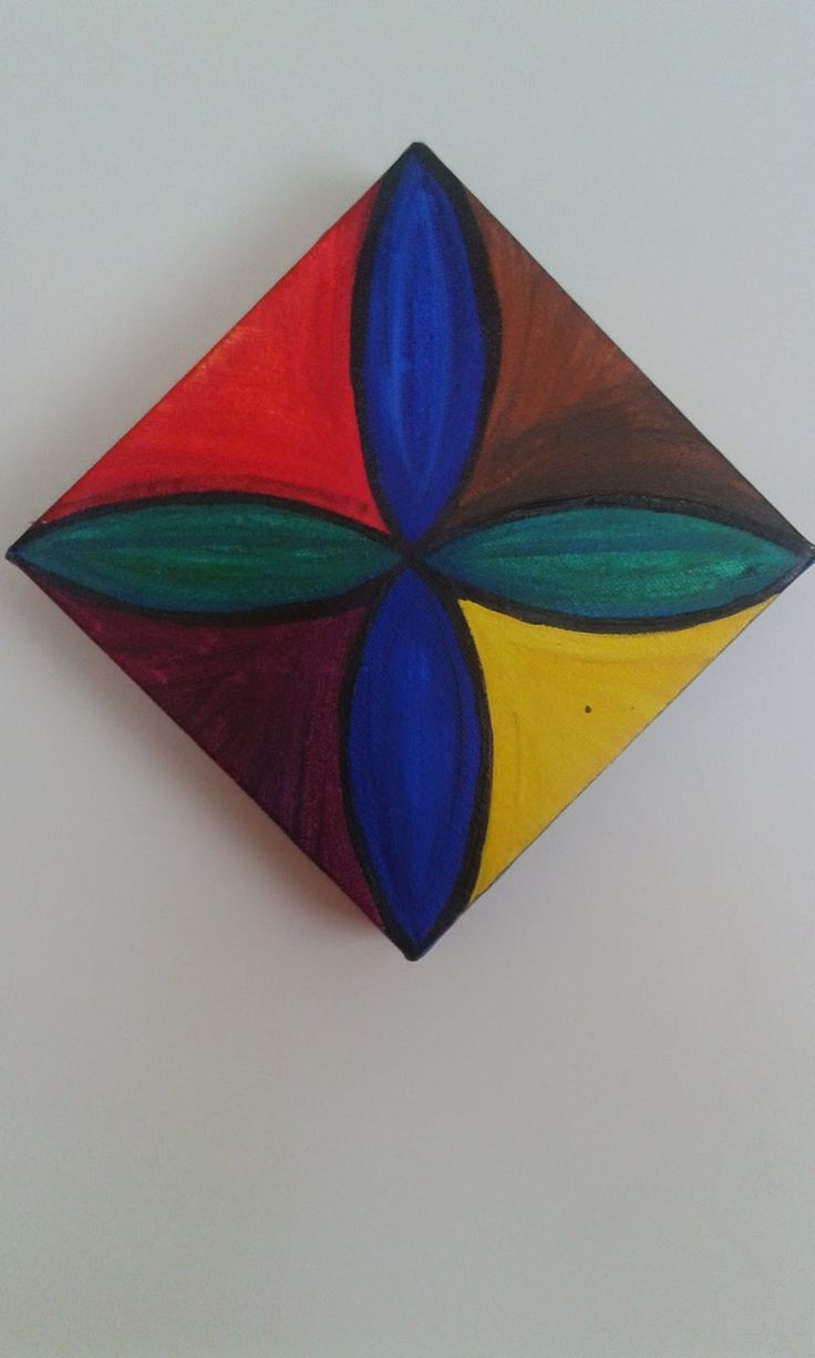 View diagonal of my Pasifika design. Acrylics on canvas by Helen Tau'au Filisi (c) 2005