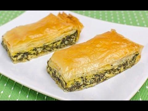Reteta Placinta cu spanac si branza (reteta video) - JamilaCuisine