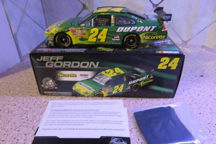#24 Jeff Gordon 2008 NICORETTE 1/24 Scale NASCAR Die Cast Chevrolet Impala SS #Action #Chevrolet