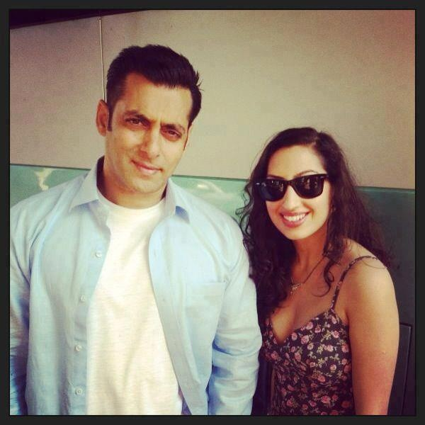 Salman with Fan