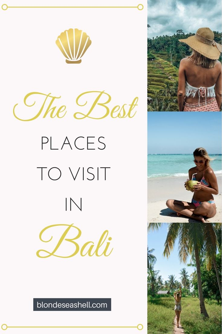 Where to go in Bali