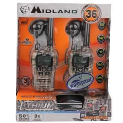 Walkie-talkies for big kids! 36-mile range, NOAA local weather alerts and headsets included