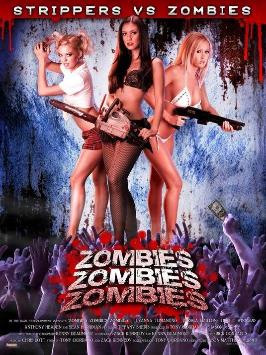 Por culpa de una droga experimental, unas chicas se quedan atrapadas en el club de Stript-Tease en el que trabajan, rodeadas de Zombies.   Armadas como pueden, tratarán de hacerles frente en una película con poca ropa y mucha sangre!!!!