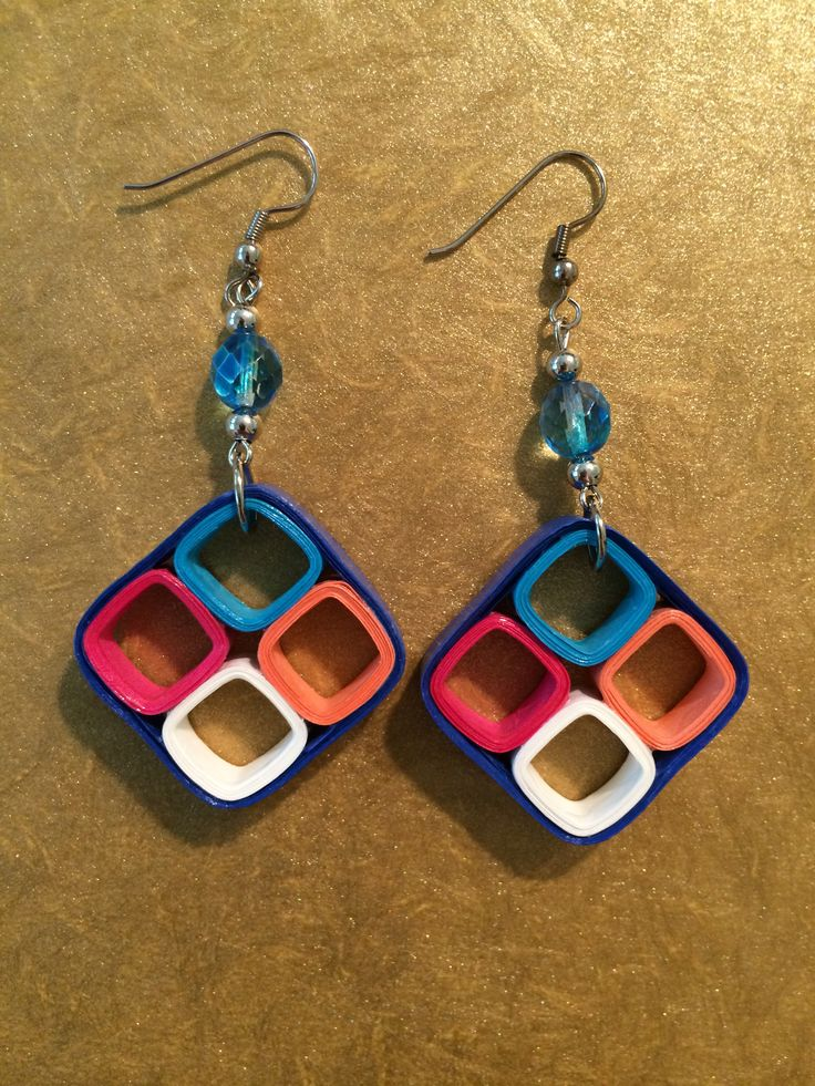 Quilled Earrings                                                                                                                                                      More
