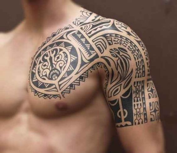 Polynesische Tattoos – Part 01 – Scorpion
