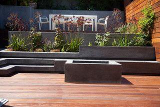 San Francisco Modern - modern - patio - san francisco - by The Garden Route Company
