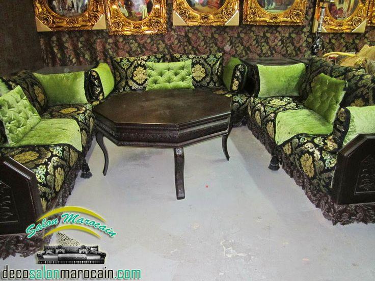 16 best salon marocain images on pinterest moroccan. Black Bedroom Furniture Sets. Home Design Ideas