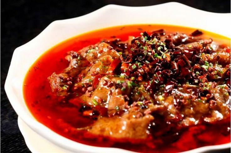 Daging Sapi dengan Saus Pedas at Nan Xiang & Shanghai Cuisine Senayan City