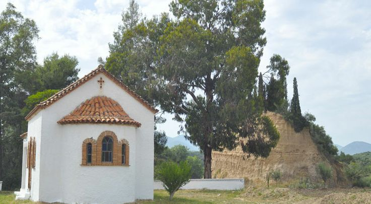 The curch and the hill