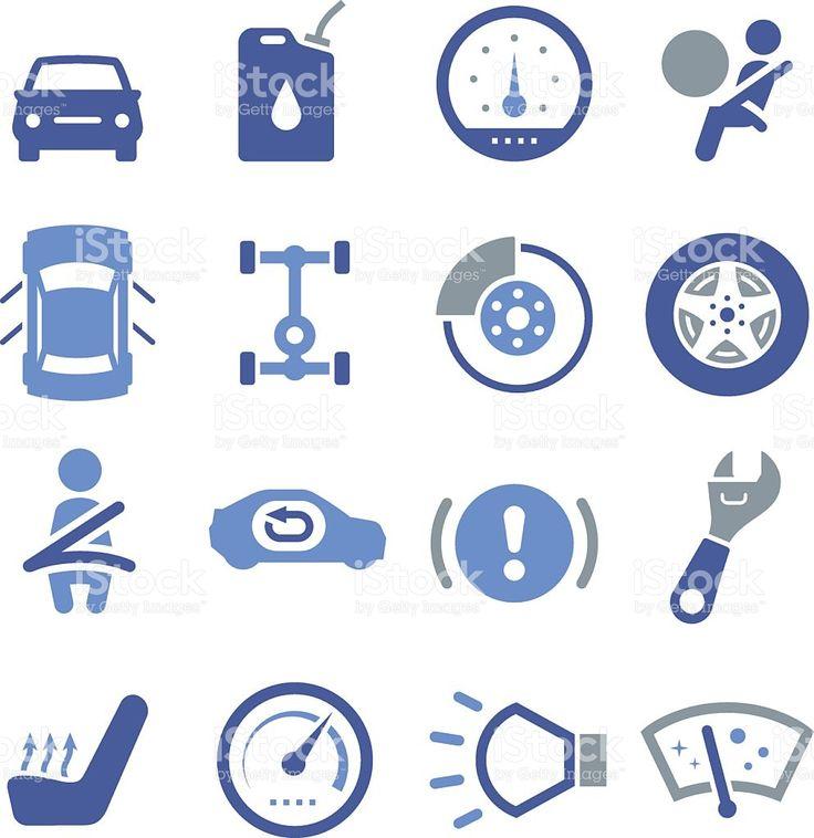 Parti di automobili-Pro Series illustrazione royalty-free