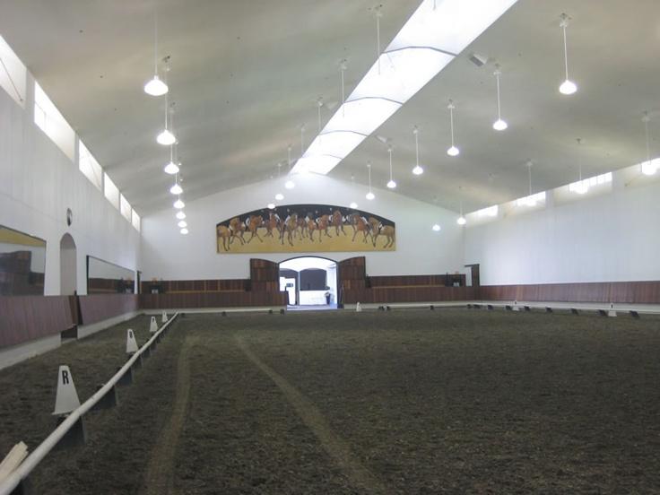 Devonwood Equestrian Center Indoor Arena Design By