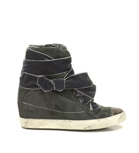 Nuove sneakers Regi A grigie con zeppa interna inverno 2013 201