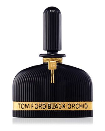Black Orchid Perfume -Lalique Edition by TOM FORD at Neiman Marcus. Black glass bottle by Lalique.