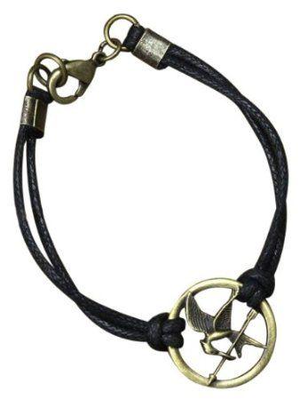 "Amazon.com : The Hunger Games Movie Bracelet Cord ""Mockingjay"" : Hunger Games Merchandise : Toys & Games"
