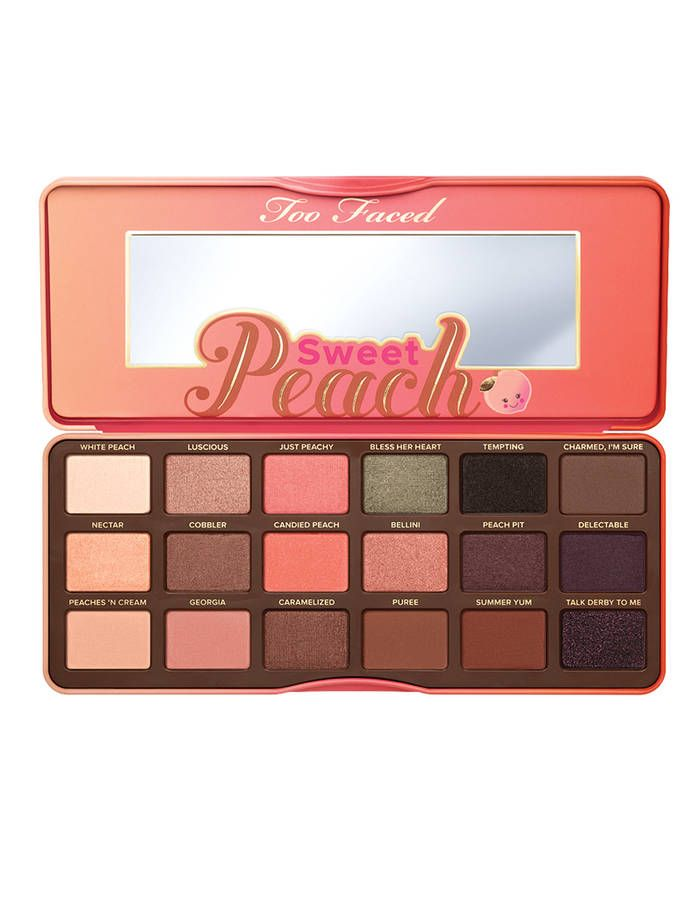 Palette de fards à paupières, Sweet Peach, Too Faced, 44 €