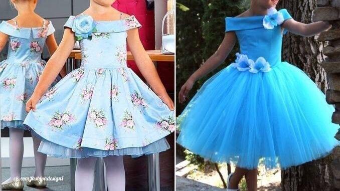 Выкройка нарядного платья для девочки (Шитье и крой) | Журнал Вдохновение Рукодельницы