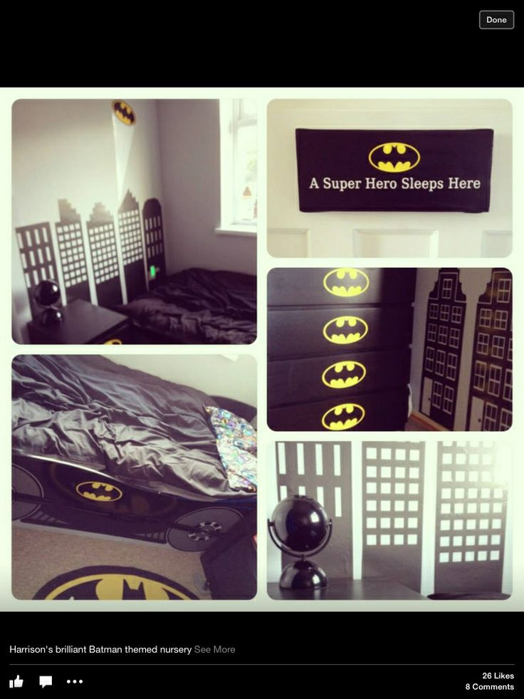 Cute Batman bedroom