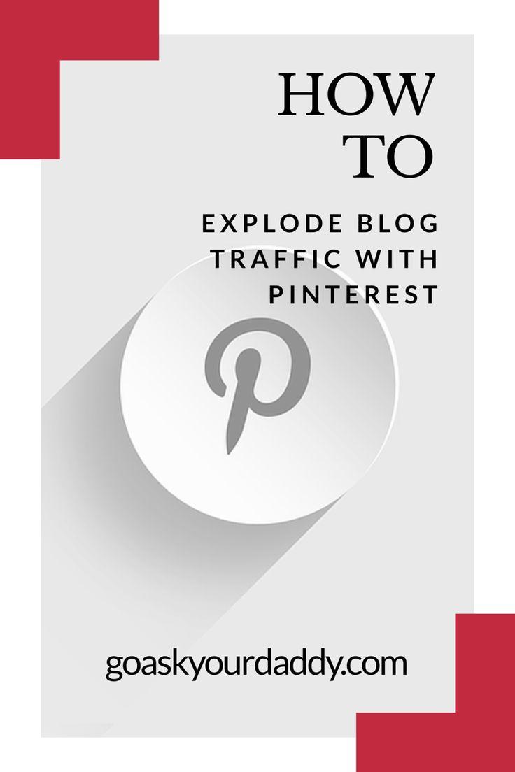 Easy ways to boost blog traffic using Pinterest.