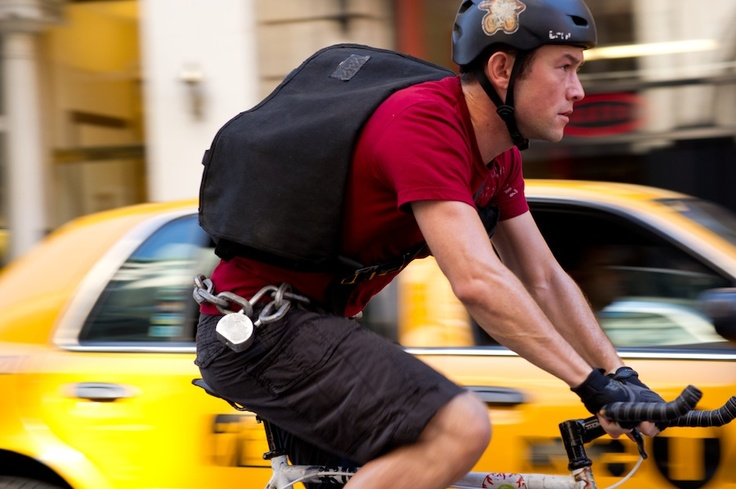 Joseph Gordon-Levitt in Premium Rush.<------ that movie was great.