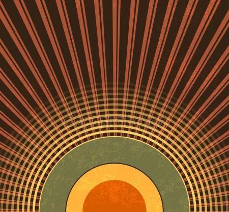 Download - Retro background - abstract grunge radio waves - vintage music pattern — Stock Illustration #70292999