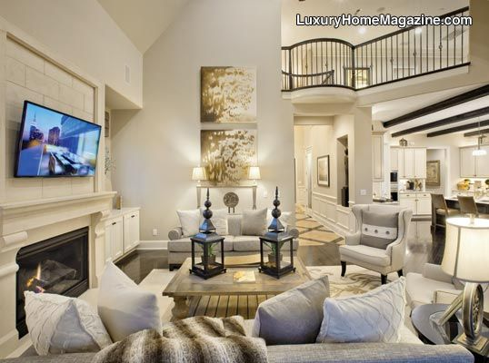 Two Story Living Room I We Know How To Do It