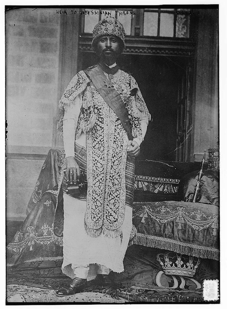 Haile Selassie I (23 July 1892 – 27 August 1975), born Tafari Makonnen Woldemikael, Ethiopia's regent from 1916 to 1930 and Emperor of Ethiopia from 1930 to 1974
