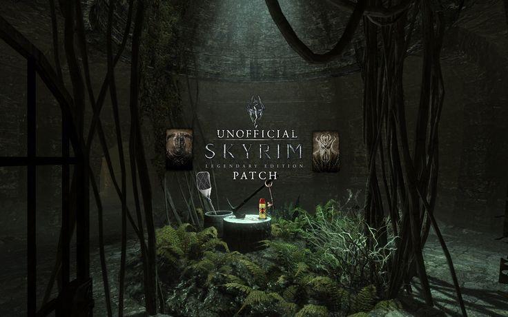 Unofficial Skyrim Legendary Edition Patch at Skyrim Nexus - mods and community