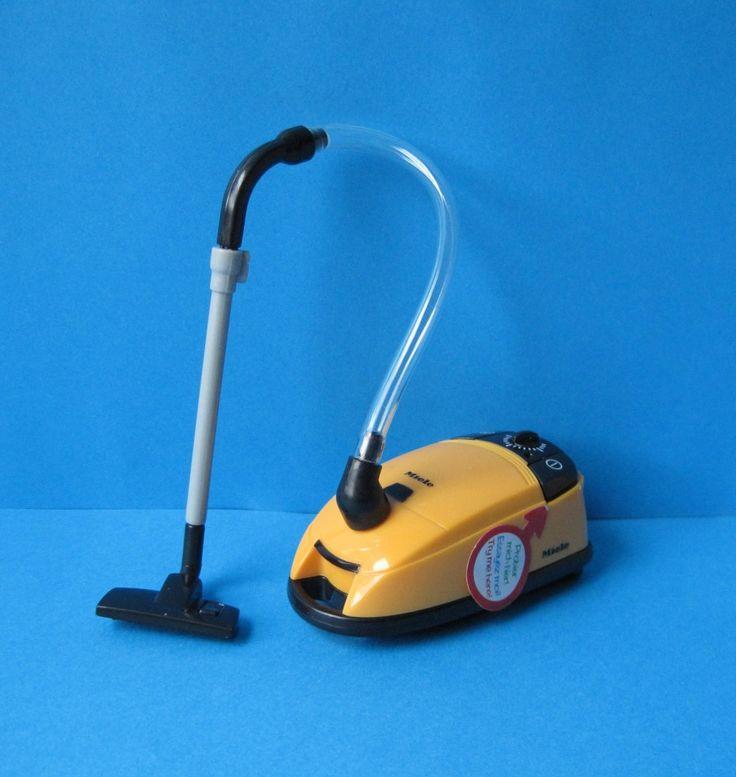 Mini Staubsauger mit Geräusch Mini Puppen Haushaltesgerät und Puppenhausmöbel