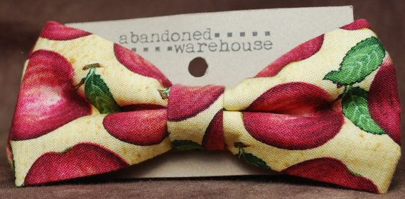 Applebuck bow bow tie / hair bow by AbandonedWarehouse on Etsy