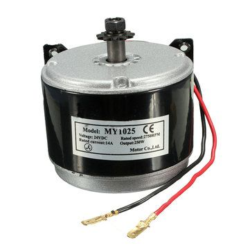 Only US$45.99, buy best DC 24V Electric Motor Brushed 250W 2750RPM 2-Wired Chain For E-Bike Scooter sale online store at wholesale price.US/EU warehouse.