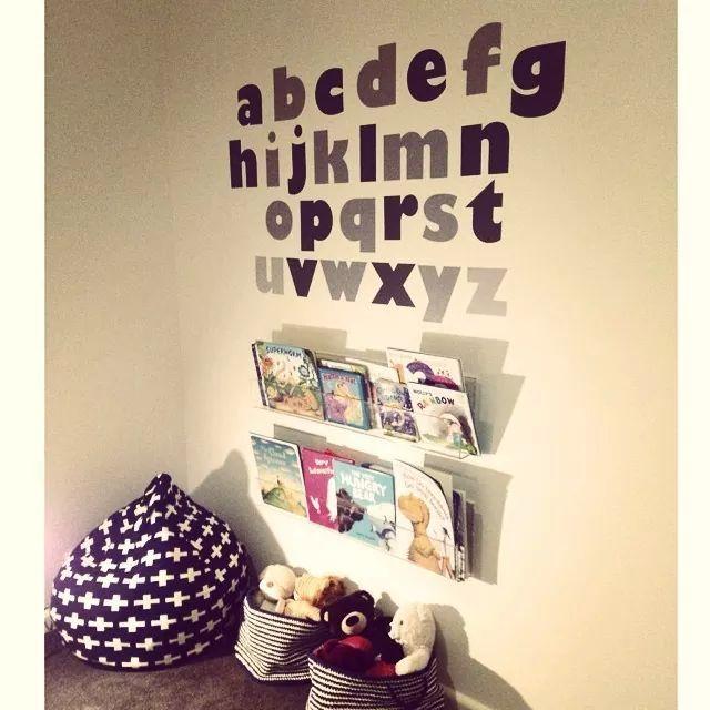 Fab reading corner for kids