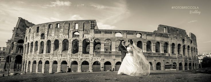 FOTO OTTICA BRECCOLA - roma, colosseo, matrimonio. Italian Wedding photographer at Colosseo Rome Italy