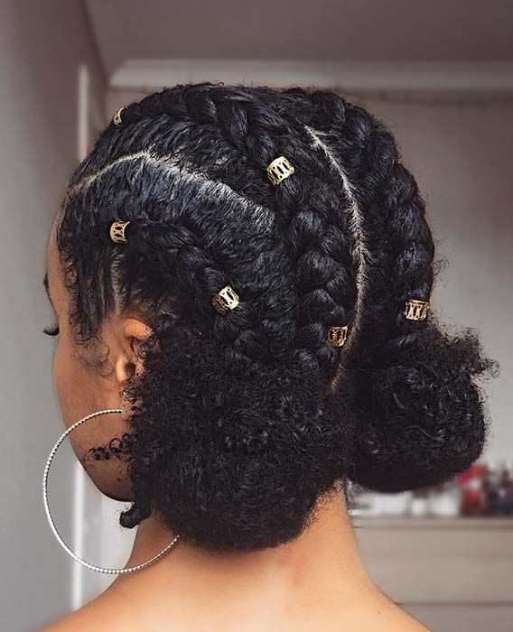 45 Beautiful Natural Hairstyles You Can Wear Anywhere Stayglam Natural Braided Hairstyles Black Natural Hairstyles Protective Hairstyles For Natural Hair