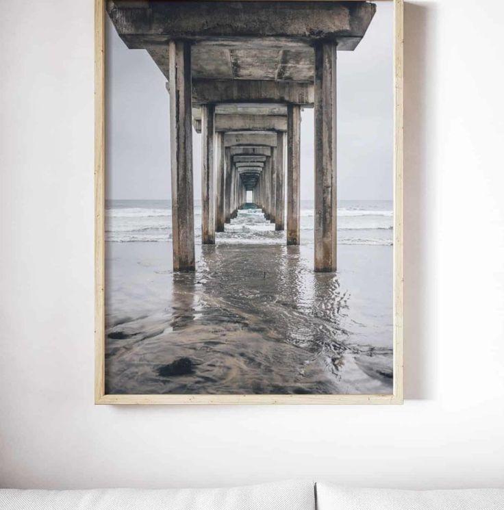 Scripps Pier Print