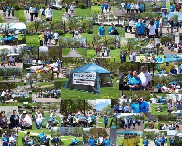Participants from the 2nd Annual Defeat Depression Walk/Run on Sunday May 26th, 2013 in Halifax, Nova Scotia. GREAT JOB EVERYONE!!!
