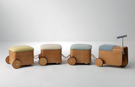From Design-News.it - Mobili per bambini #mobilibambini #giochilegno