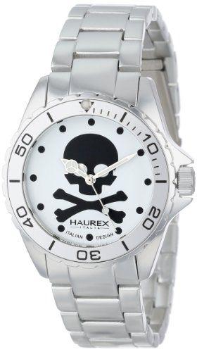 Haurex Italy Ink Womens Quartz Watch #skulls #skullwatch more at http://skullclothing.net