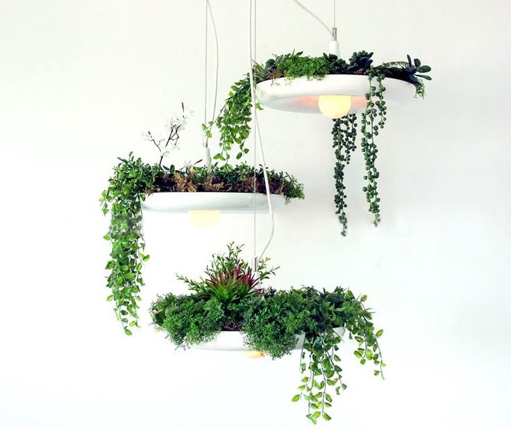 Северные IKEA креативный дизайнер лампы горшечные растения цветок люстра с Вавилоном Висячие сады Семирамиды - Taobao