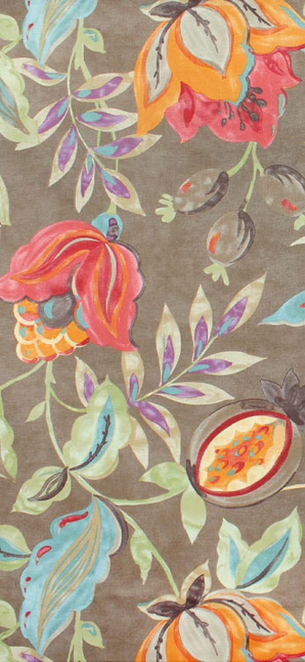 ~ Waverly - Modern Poetic Flaxseed #Fabric #pattern