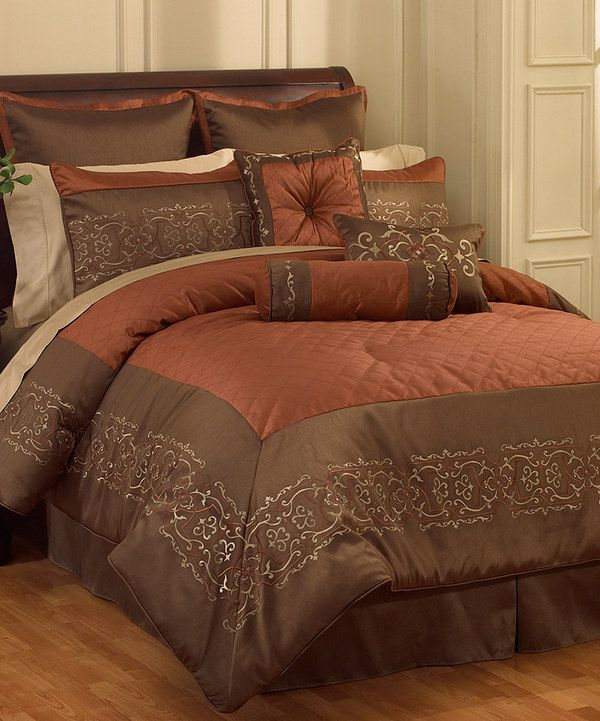 Take A Look At This Terra Cotta Sicilia Comforter Set On