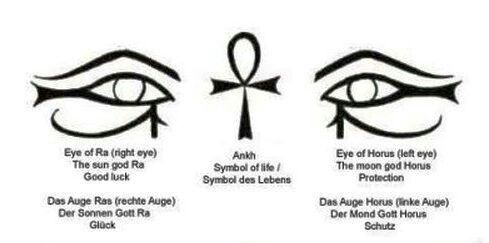 Schützendes Auge