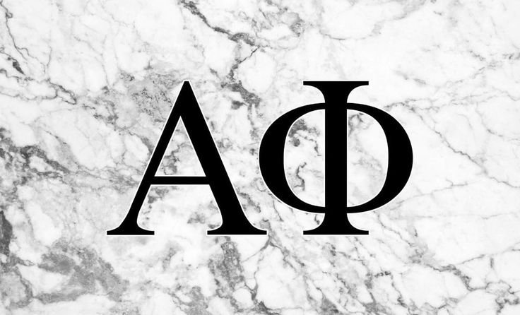 Alpha Phi Sorority Flag- Marble - Brothers and Sisters' Greek Store